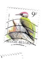 9 FRANCS -  PIC VERT - Très Beau Timbre - Belgique