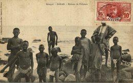 CPA SENEGAL  DAKAR ENFANTS DE PECHEURS - Senegal