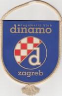 Pennant NK FC Dinamo Zagreb Croatia  Football Scholl Hitrec And Kacian - Apparel, Souvenirs & Other