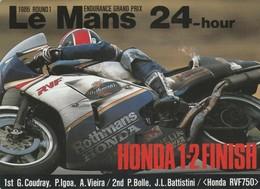LE MANS 24-hour 1986 Endurance Grand Prix Honda Sticker, Autocollant - Voitures (Courses)