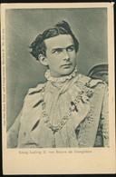 Ludwig II Konig Von Bayern Als Georgiritter Carl Otto Hayd - Autres