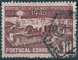 Portugal 1940 Portuguese Int Exhib. - 300th Anniv Restoration Of The Monarchy  - 800th Anniv Independence Canc - Philatelic Exhibitions