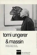 Carte Invitation Tomi Ungerer 1991 CI 08 - Cartes