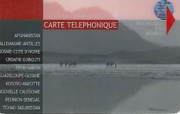 Carte Telephonique Armées-bleue - France