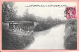 Moncrabeau - Pont En Bois Sur La Baïse Construit En 1845 ....navigation. - Frankreich