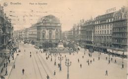 CPA - Belgique - Brussels - Bruxelles - Place De Brtouckère - Monuments, édifices