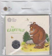 UK 50p Coin Gruffalo - Brilliant Uncirculated BU In Royal Mint Pres/Pack - 50 Pence