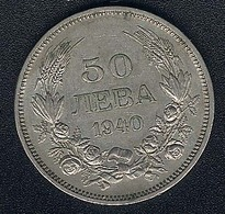 Bulgarien, 50 Leva 1940 A - Bulgarie