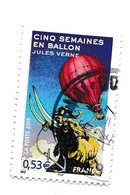 0,53 Euro - CINQ SEMAINES EN BALLON - Jules VERNE - Oblitérés