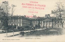 """Griffe """" CROIX-ROUGE COMITÉ DE LUNÉVILLE - Octobre 1914 - Meurthe Et Moselle - Poststempel (Briefe)"""