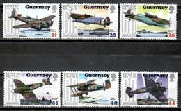 Guernsey 2000 / Militar Aviation Airplanes Aircraft Battle Of Britain MNH Aviacion Aviones Luftfahrt / Cu11917  C5 - Aviones