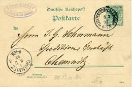 (Lo3144) Ganzs. DR St. Lichtenstein N. Chemnitz - Brieven