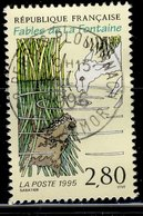 France 1995 - Oblitéré Used - Y&T N° 2960 - Fable De La Fontaine - Le Loup Et L'agneau - France