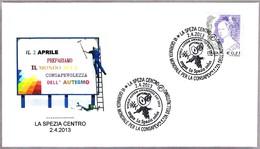 DIA DE LA CONCIENCIACION SOBRE EL AUTISMO - World Autism Awareness Day. La Spezia 2013 - Enfermedades