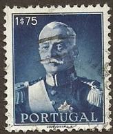 Portugal 1945 Presidente António Oscar De Fragoso Carmona - Presidente Carmona Canc - Celebrità