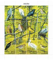 """Malediven: """"Vögel""""; 2 Kleinbögen - Vögel"""