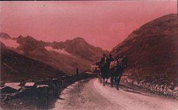 Transport, Attelage Dans Les Alpes (20.12.23) Léger Pli D'angle - Cartes Postales