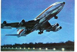 Cpm - Dans Le Ciel De France - BOEING 707 B Intercontinental De La T.W.A. - - Avions