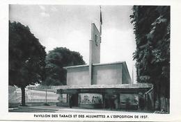 Exposition Internationale Paris 1937 Pavillon Des Tabacs Et Des Allumettes  Parfait état - Exhibitions