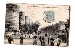 CPA 49 - Angers ( M Et L ) - Le Boulevard Du Château , Bien Animé - Angers