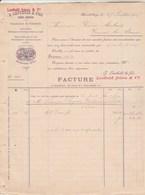 Suisse Facture Double Page 27/7/1893 LEUTHOLD Bonneterie ZURICH ENGE - Suisse