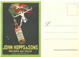 "2961 "" JOHN HOPPS & SONS - MAZARA DEL VALLO "" CART. ORIG. SPED. - Non Classificati"
