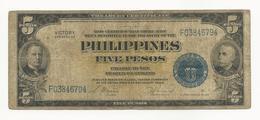 Philippines 5 Pesos 1944 Series No. 66 - Philippines
