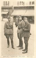 """2962 """" UFFICIALI DELL'ESERCITO ITALIANO A BOLOGNA """" FOTO ORIGINALE - War, Military"""