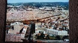 CPSM AIX EN PROVENCE 13 VUE AERIENNE COURS MIRABEAU AVENUE DES BELGES PLACE DE LA LIBERATION  ED CIM - Aix En Provence