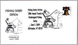 Campeonato De Pesca. SILLA DE RUEDAS - WHEELCHAIR. Chittenden VT 2009 - Handicap