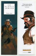 Marque-page MP - Bande Dessinée Texas Jack, Par Dubois Et Armand. Collection Signé, éditions Le Lombard - Marque-Pages