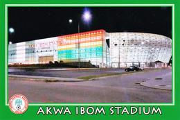CARTE DE STADE DE. UYO   NIGERIA   AKWA IBOM STADIUM   # A.G. 024 - Voetbal