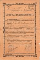 1898 - 15° Régt D'Infanterie - CERTIFICAT De BONNE CONDUITE - CHIROLEU Sébastien Né à TOULOUGES (66) - Documents Historiques