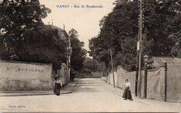 CPA 54 Meurthe & Moselle Nancy Rue De Boudonville - Nancy