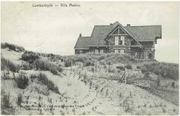 LOMBARTZYDE - Middelkerke - Villa Madou - N° 12465 - Edit. Henri De Wulf - Middelkerke
