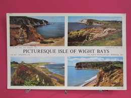 Angleterre - Picturesque Isle Of Wight Bays - CPSM Très Bon état - Scans Recto-verso - Angleterre