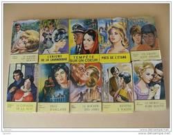 LOT 10 Romans Romantiques Editions REMPARTS - Collection EGLANTINE No 1,2,3, - Collection JASMINE No 4,5,6,7,8,9,11. - Livres, BD, Revues