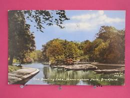 Visuel Très Peu Courant - Angleterre - Bradford - The Boating Lake - Manningham Park - 1967 - Scans Recto-verso - Bradford
