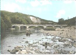 BESSEGES Le Pont Des Droulhedessur La Ceze - Bessèges