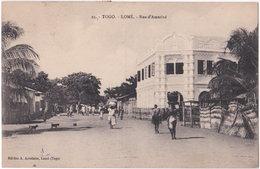 LOME. Rue D'Amutivé. 23 - Togo