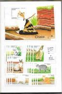 Série CHATS  REPUBLIQUE DU BENIN - BLOC + 6 Timbres-1998 NEUF - NON OBLITERE - Benin – Dahomey (1960-...)