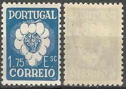 PORTUGAL 5º Congresso Internacional -1.75E- 1938- Afinsa 582- MNHOG- Excellent - Nuevos