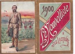 CALENDRIER    1900   LE NOUVELLISTE. DE LYON . - Calendars