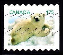 Canada (Scott No.2429 - Enfant De La Faune / Wildlife's Babys) (o) Bande / Coil - 1952-.... Règne D'Elizabeth II