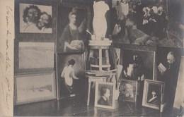 CPA (  Peintre )CARTE PHOTO Peintre Dans Son Atelier ( B Bur Theme) - Autres