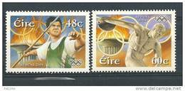 Irlande 2004 N°1598/1599 Neufs ** Jeux Olympiques, Sports: Lancers Du Javelo Et Disque - 1949-... République D'Irlande