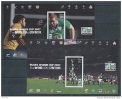 Irlande 2007 Blocs  N° 72 Et 73 Neufs Sport Rugby - Blocs-feuillets