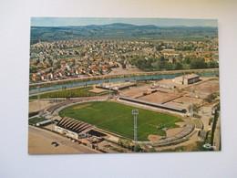 Gueugnon Vue Aérienne Stade Football - Gueugnon