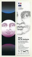Marque-page - 3ème édition De La Nuit De La Lecture - 2019 - Ministère De La Culture - Marque-Pages