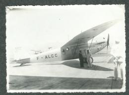 Photo Avion Joseph Le Brix Rossi Et Codos Record Du Monde 1933 De New-York à Rayak Liban Syrie - Aviation